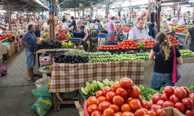 'Atmospheric': the Green Bazaar. Photograph: Greg Balfour Evans/Alamy Stock Photo