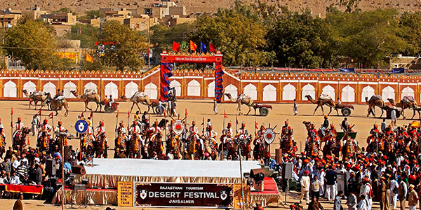 Jaisalmer Desert Festival India