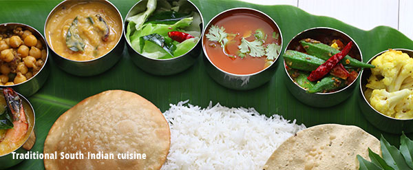 traditional south indian cuisine