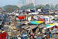 Dhobi Ghat, the world's largest outdoor laundry, in Mumbai