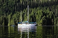 Our vessel, the comfortable S/V Island Roamer (© Sherry Kirkvold)
