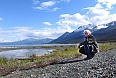 Pete Read at Kluane lake lookout