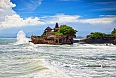 Tanah Lot Temple, the most important Hindu temple of Bali