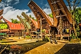 Toraja Village with ancestral houses