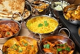 A feast of Indian food