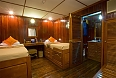Stateroom on board the Bengal Ganga
