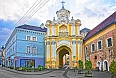 Basilian monastery gate in the Old Town of Vilnius, Lithuania