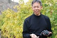 Howard Soon at his vineyards