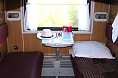 Trans-Siberian Railway car second class