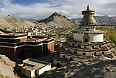 Gyantse Fort and Kumbum Monastery