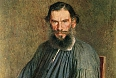 RUSSIA - CIRCA 1873 Leo Tolstoy, a portrait of Nicholas Kramskoy, 1873, from the collection of the State Tretyakov Gallery, Moscow. Illustration from the book History of Moscow, 1957