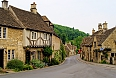 Village in the Cotswolds of England