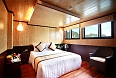 Deluxe cabin on board our Halong Bay cruise