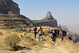 Laurielle during her Gheralta walk with local guides