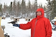 We can feed the Gray Jays after our dogsledding excursion.