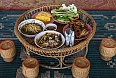 Ka toke, a traditional Laos meal table