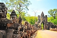 Stone Gate of Angkor Thom