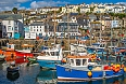 Mevagissey, a fishing town